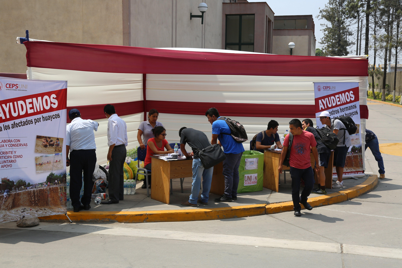 Thumbnail for the post titled: Recolección de Ayuda y organización del Voluntariado