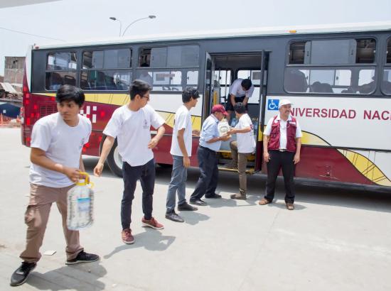 Thumbnail for the post titled: ¡Voluntarios RSU-UNI en acción!