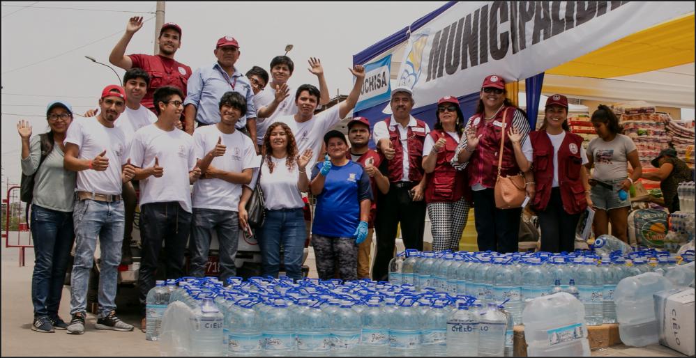 Thumbnail for the post titled: UNI dona más de 2 mil 400 litros de agua a los afectados por deflagración en Villa el Salvador