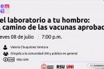Thumbnail for the post titled: Del laboratorio a tu hombro: el camino de las vacunas aprobadas